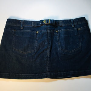 Princess Vera Wang Denim Mini Skirt Size 13